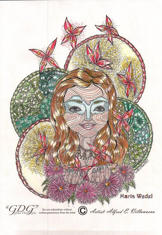 Maria Wedel is the creator of Global DoodleGems.