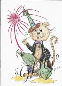 New Year Cat C Karin_wm