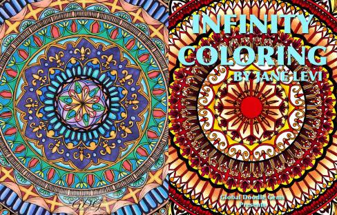 Infinity Coloring-Jane Levi
