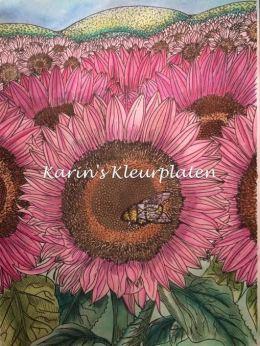 Peggy's zonnebloem Karin Speijer
