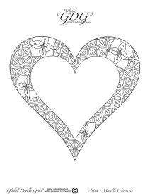 10th of December heart by Mireille Westerduin