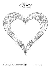 14th of December heart by Amy Ke