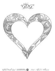 1st of December heart by Alfred E Villanueva