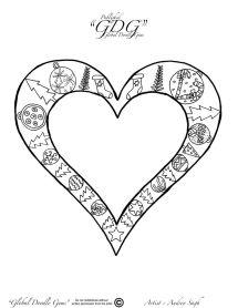 3rd of December heart by Audrey Sagh