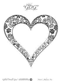 6th of December heart by Johanna Ans