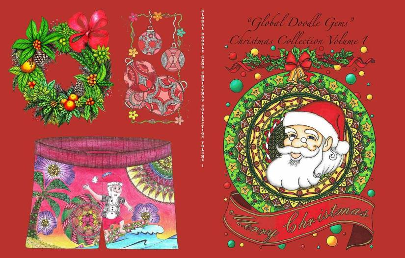 "Global Doodle Gems X-MAS editions Volume 1, 2 & 3 ""Dutchies"""