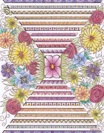 colorié par Elizabeth Delhaye