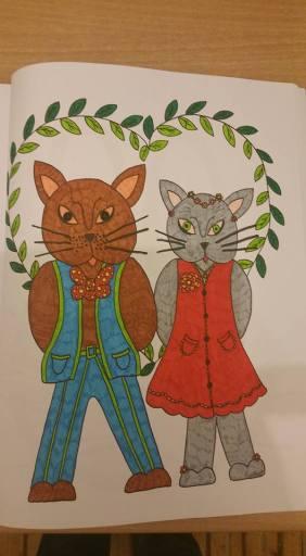 Cats Together Dorothee Houvenaghel