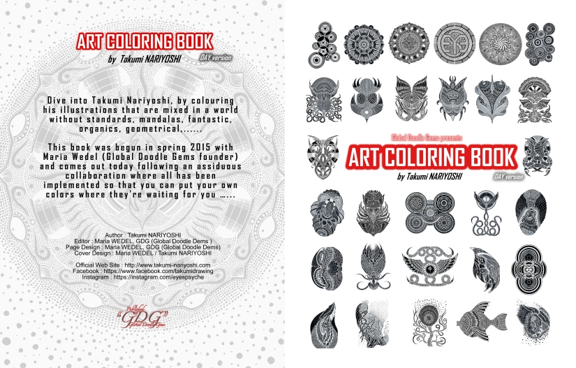 Workshop: How to color…something really different! meet TakumiNaryoshi