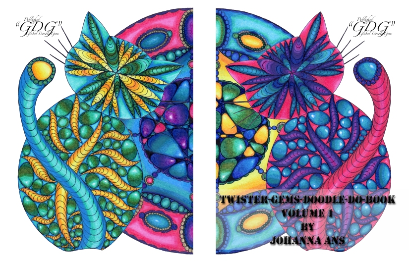 """GDG Individuals Johanna Ans """"Twister-Gems-Doodle-Do-Book"""" PREVIEW"""