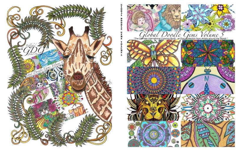 Global Doodle Gems Volume 5/ personal review JohannaAns