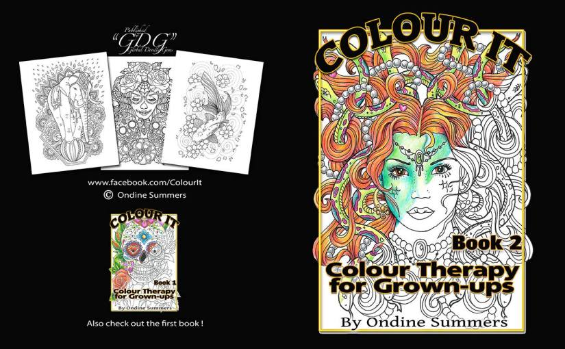 "GDG ""Colour It"", Book 1 & 2 by Ondine Summers, inspiration"