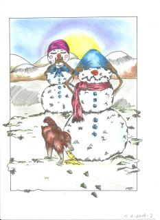 02-mrs-and-mr-snowman