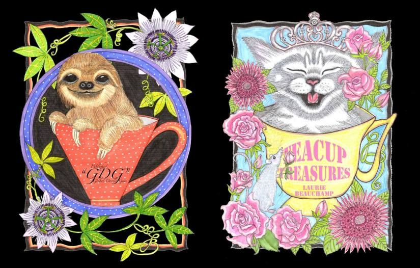GDG Teacup Treasures – Laurie Beauchamp by Dogfanart