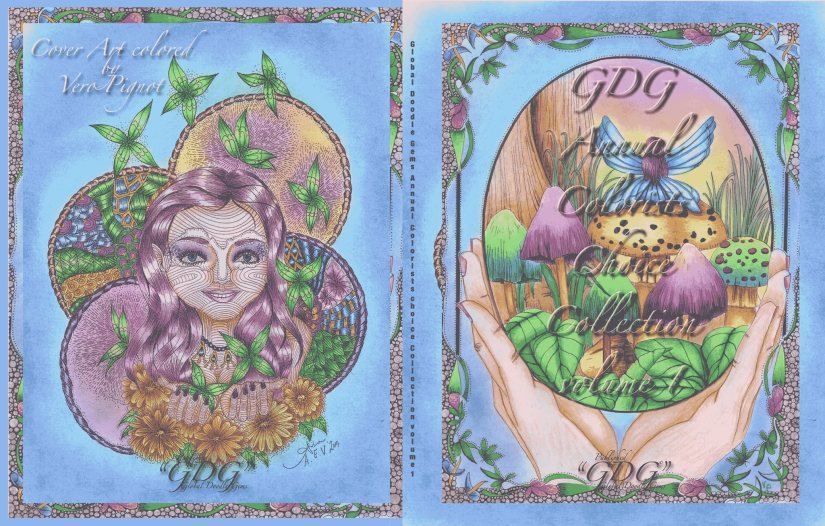 """GDG """"Annual Colorist Choice"""", host review by Inge Boogaers-Kanters"""