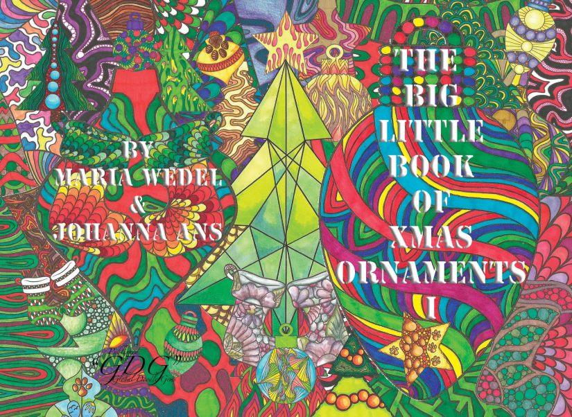 "GDG ""The Big Little Book of X-mas Ornaments"" Vol. 1 & 2 by Maria Wedel & JohannaAns"