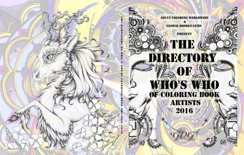 GDG The Directory of Who's Who of Coloring Book Artists 2016 / JaneskaWijngaard