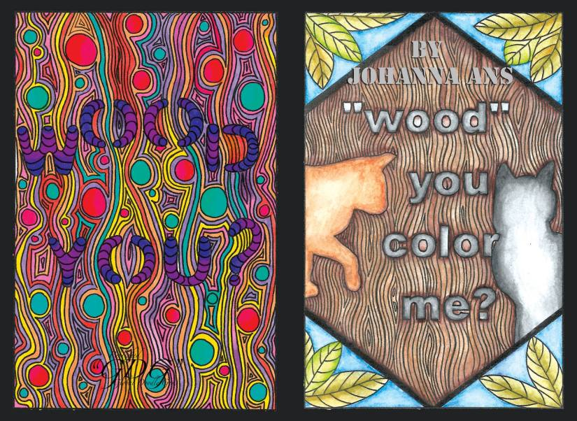 "GDG ""Wood"" you color me? by Johanna Ans, review Manuela Badr"