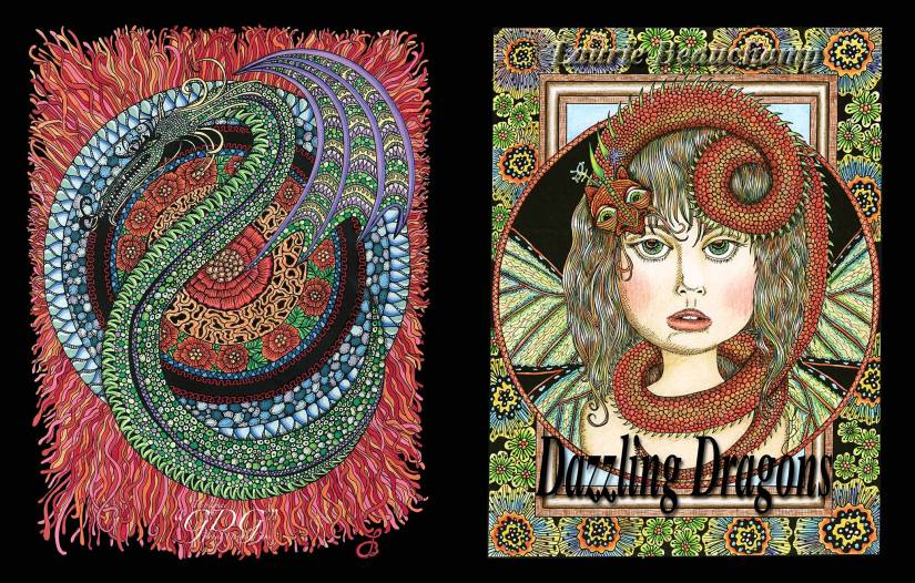 GDG Dazzling Dragons by Laurie Beauchamp, review CharlaineDingemans