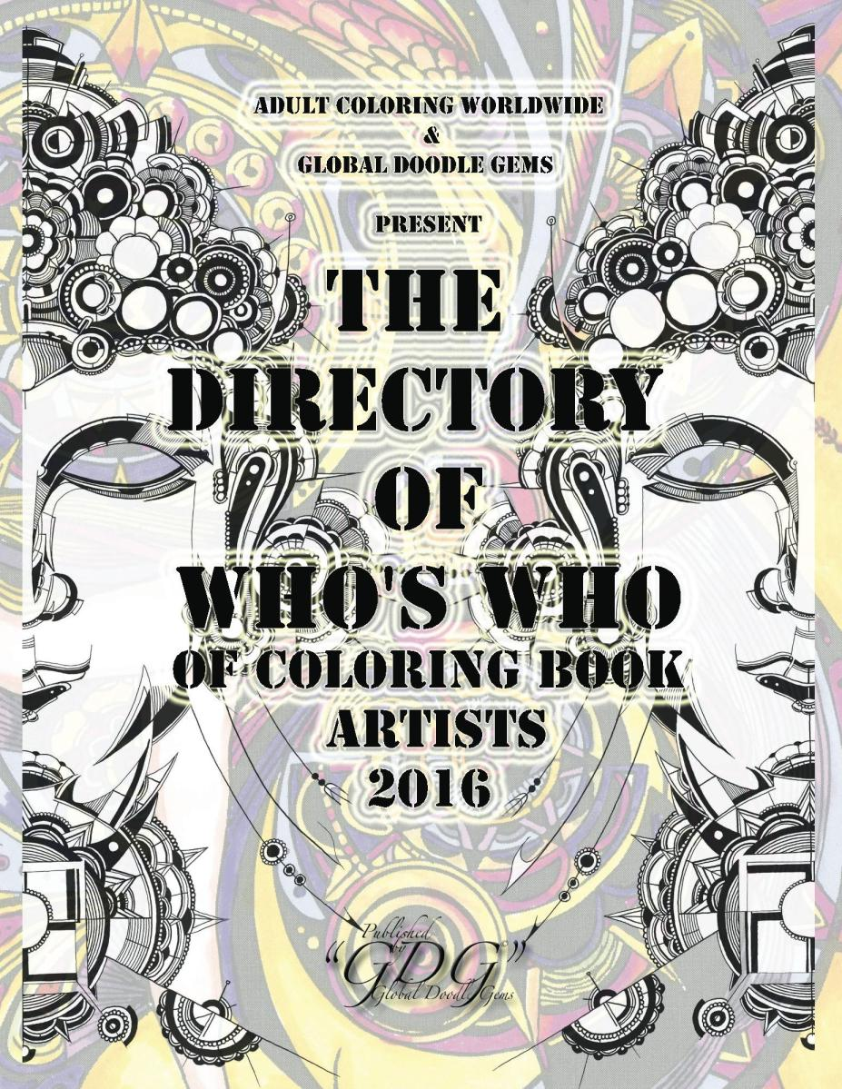 GDG The Directory of Who's Who by Manuela Badr, part one