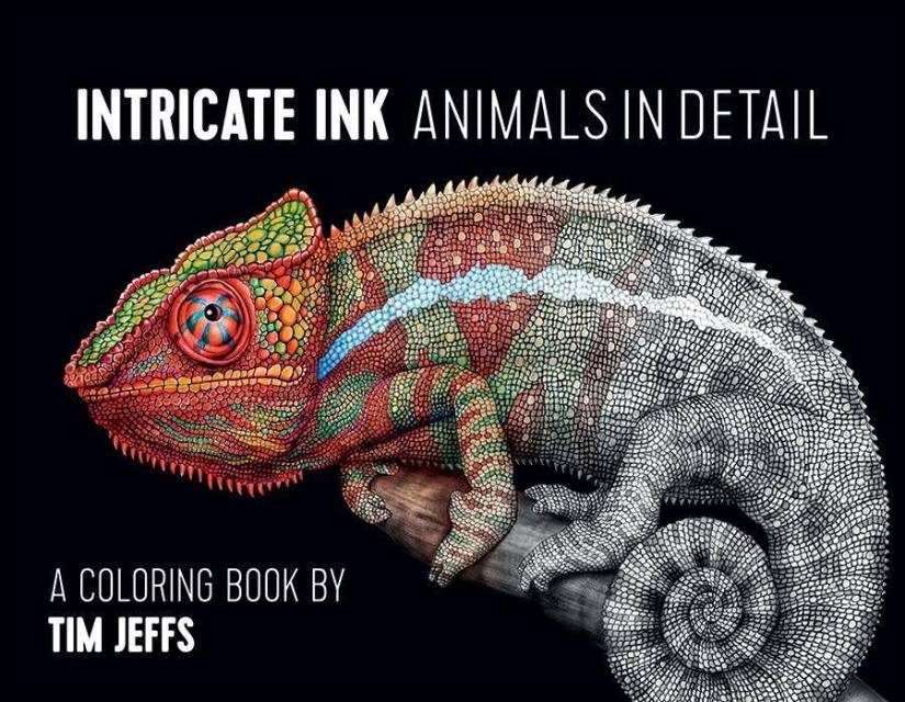 "Review of Tim Jeffs ""Intricate Ink Animals In Detail"" Volume 1"
